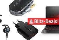 Blitzangebote: Quick-Charge-Ladegerät, Dia-Scanner, BT-Transmitter u.v.m. günstiger