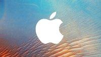 Apple-Logo mit der Tastatur schreiben