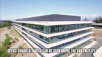 Apple Park: Das vielleicht letzte Baustellen-Drohnenvideo