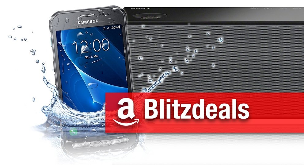 Blitzangebote: Galaxy Xcover 3 Outdoor-Smartphone, Sony AirPlay-Lautsprecher, AirPrint-Drucker