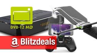 Blitzangebote: DVB-T2 Receiver, Antennen und TVs + Parrot-Drohnen, Asus Smartwatch günstiger