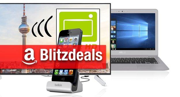 Blitzangebote: Asus Zenbook, 55 Zoll 4K-TV, Belkin-Zubehör und mehr zum Bestpreis