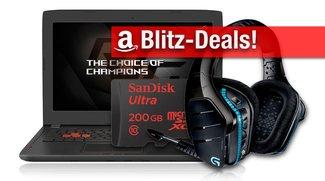 Blitzangebote: SanDisk Speicherkarten, Gaming-Zubehör, Notebooks von HP, Lenovo und Asus günstiger