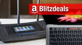 Blitzangebote & CyberSale: MacBook Pro mit Touch Bar, WLAN-AC-Router mit Touchscreen