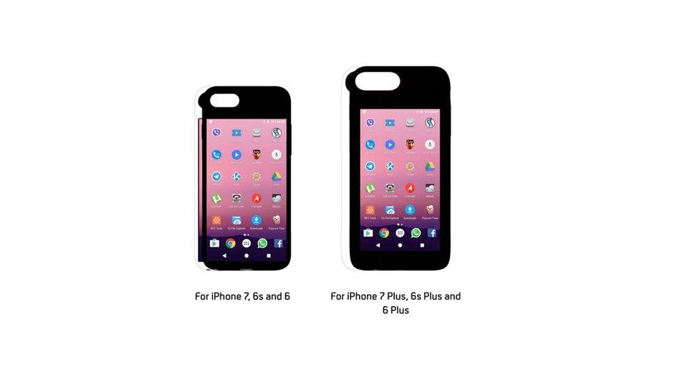 Eye: Dieses iPhone-Case ist ein Android-Smartphone