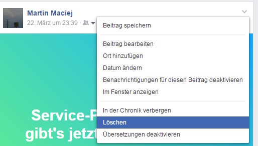 Wiederherstellen bei gelöschte beiträge facebook Facebook gelöschte