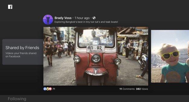 Facebook Video für Apple TV: Facebook-Videos auf dem Fernseher genießen