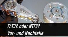 FAT32 oder NTFS? Wie soll man formatieren?