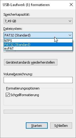 Sd Karte Formatieren Fat32.Sd Karte Formatieren Android Mac Und Windows So Geht S