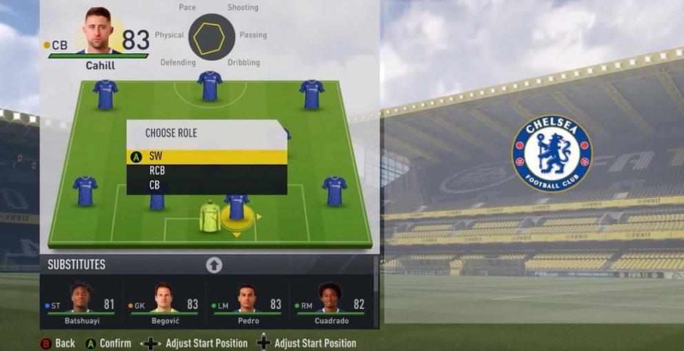 FIFA 17 Libero Formation