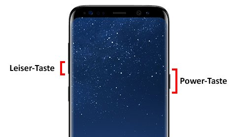 So könnt ihr das S8 (Plus) neustarten.
