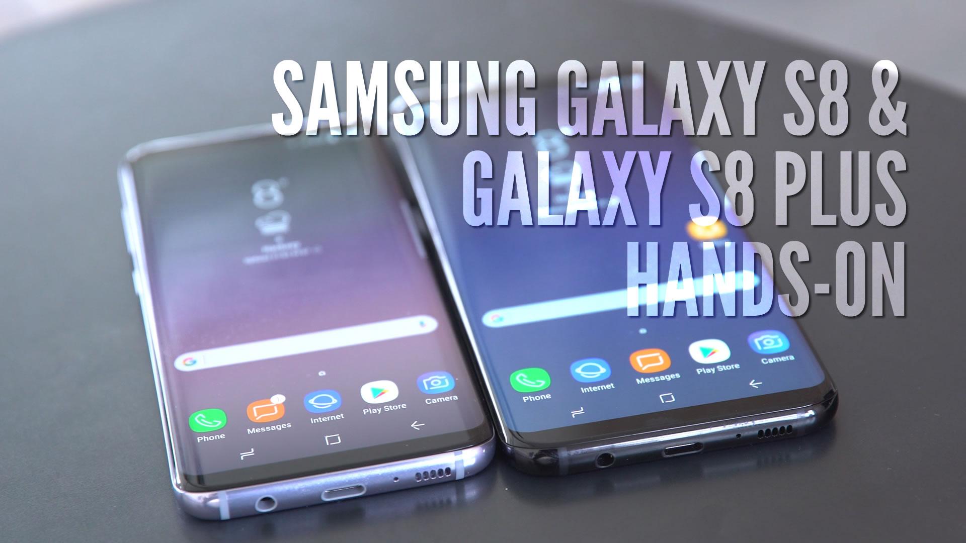 Galaxy S8 Sim Karte.Samsung Galaxy S8 Und S8 Plus Im Hands On Unser Erster Eindruck Zur Neuen Flaggschiff Generation