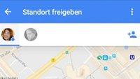 Google Maps: Standort in Echtzeit teilen – so geht's