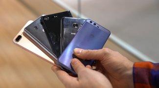 Smartphones 2017/2018: Rapider Anstieg der Verkaufszahlen erwartet