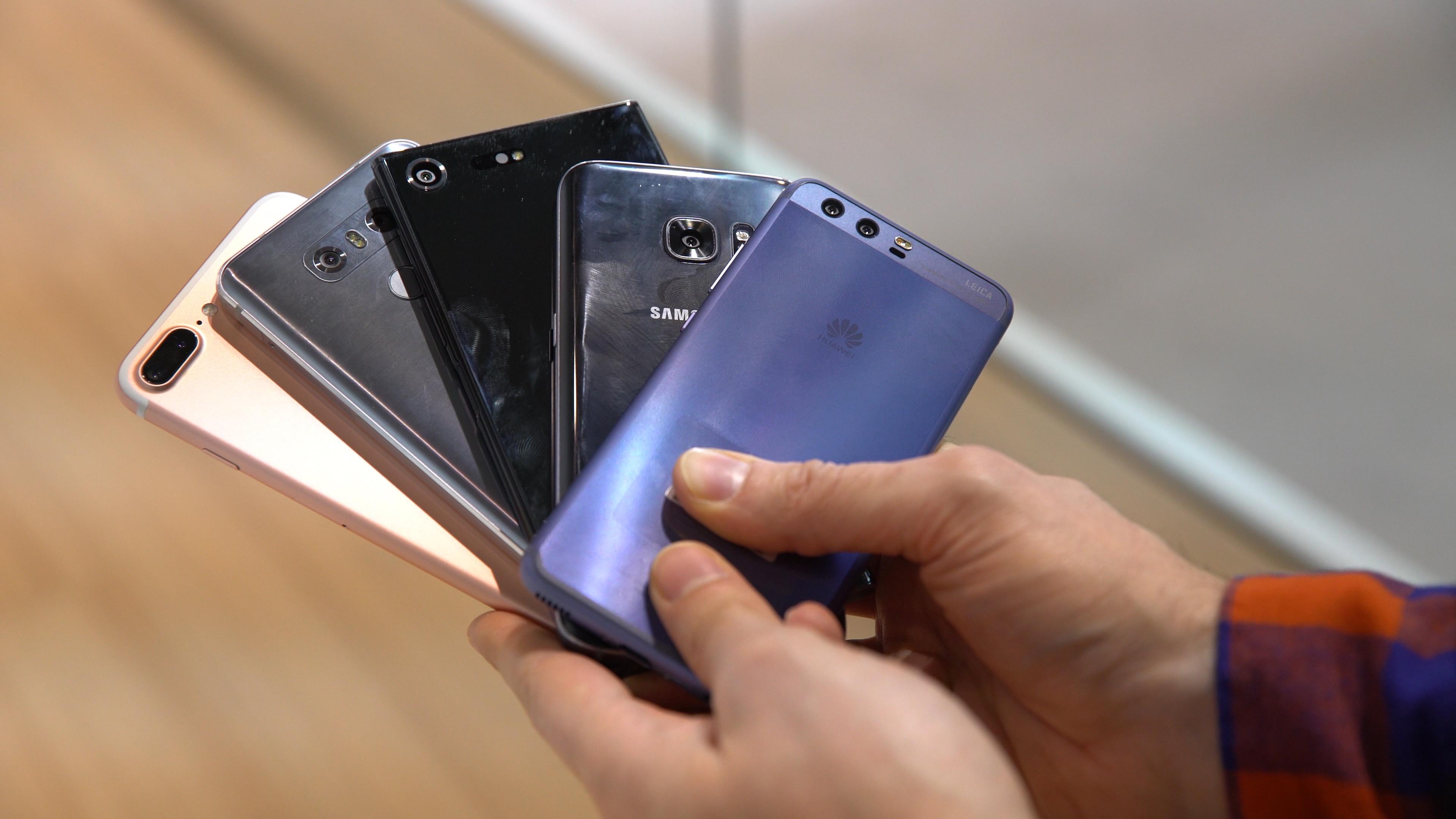 Smartphones 20172018 Rapider Anstieg Der Verkaufszahlen Erwartet