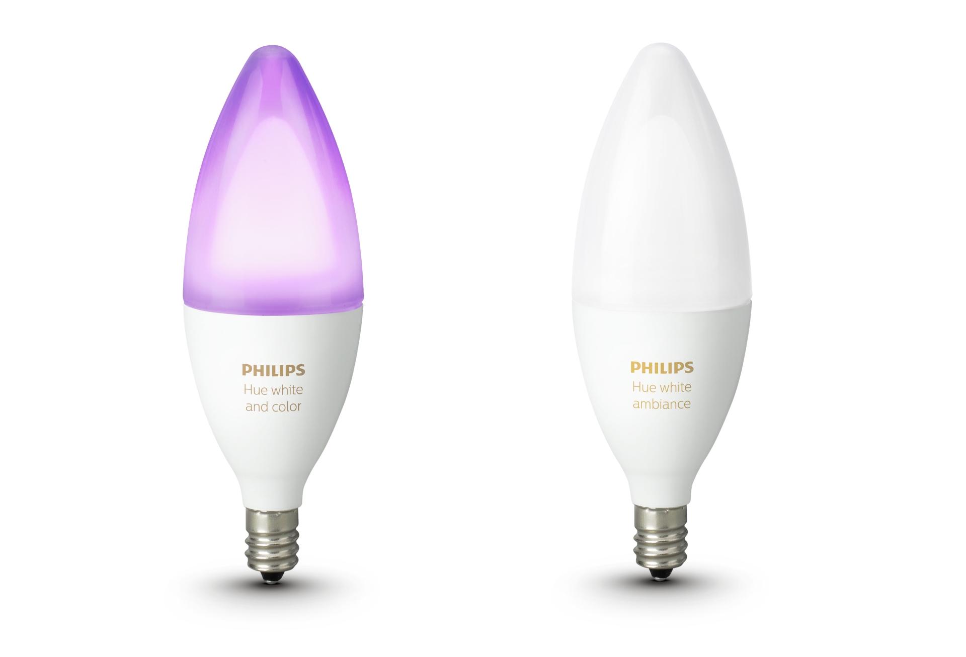 Hue Lampen Philips : Philips hue wird romantisch neue e kerzenlampen vorgestellt u giga