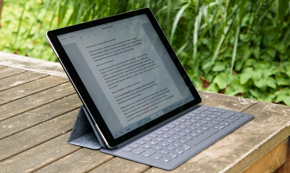 "12,9"" iPad Pro mit Smart Keyboard"