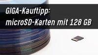 microSD Karte 128 GB: GIGA-Kauftipps
