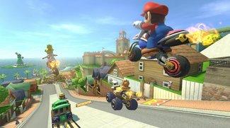 Mario Kart mit einem PKW als Controller spielen