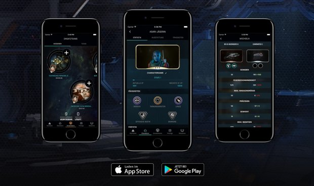 Mass Effect - Andromeda: Companion App Apex HQ - Download und Infos