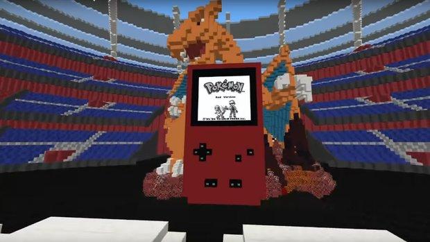 Minecraft: Pokémon Rot originalgetreu nachgebaut