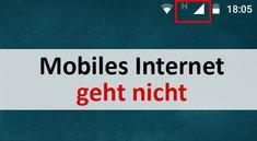 Lösung: Mobiles Internet funktioniert nicht