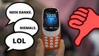 Meinung: Das Nokia 3310 ist ein alter Gag