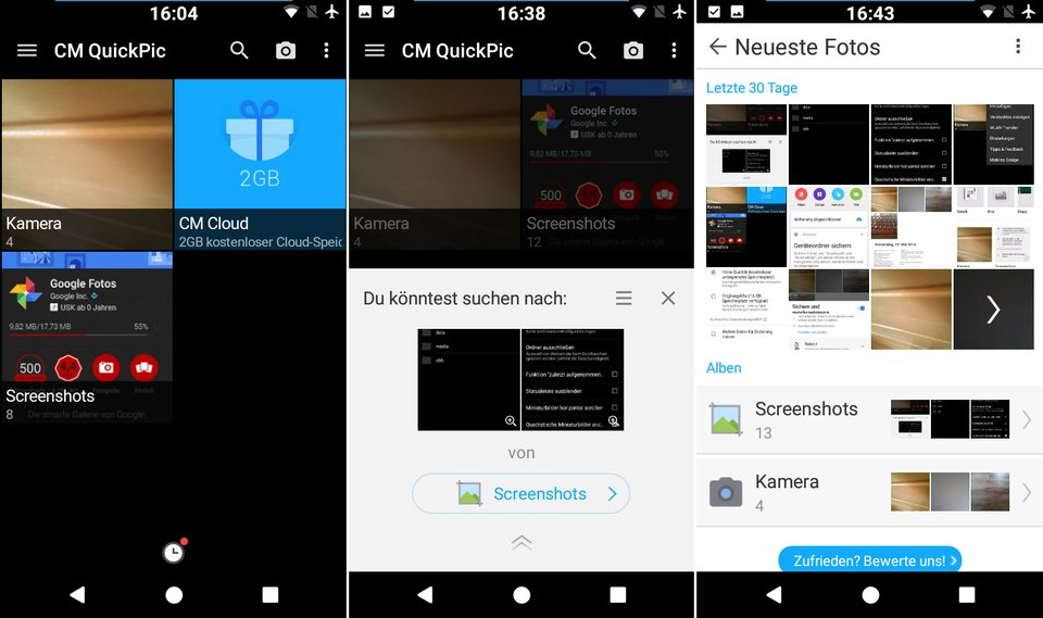QuickPic ist eine der besten Galerie-Apps, die wir kennen.