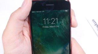 Video zeigt rotes iPhone 7 mit schwarzer Front