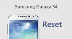 Samsung Galaxy S4 (mini) zurücksetzen – so gehts