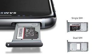 Samsung Galaxy S8 Plus mit Dual-SIM in Deutschland kaufen (Duos-Variante)