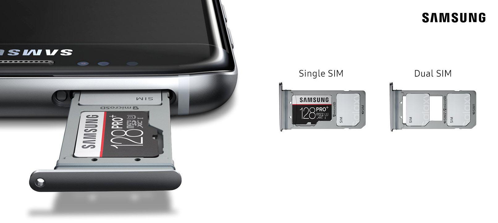 samsung galaxy s8 sim karte einsetzen Samsung Galaxy S8 Plus mit Dual SIM in Deutschland kaufen (Duos