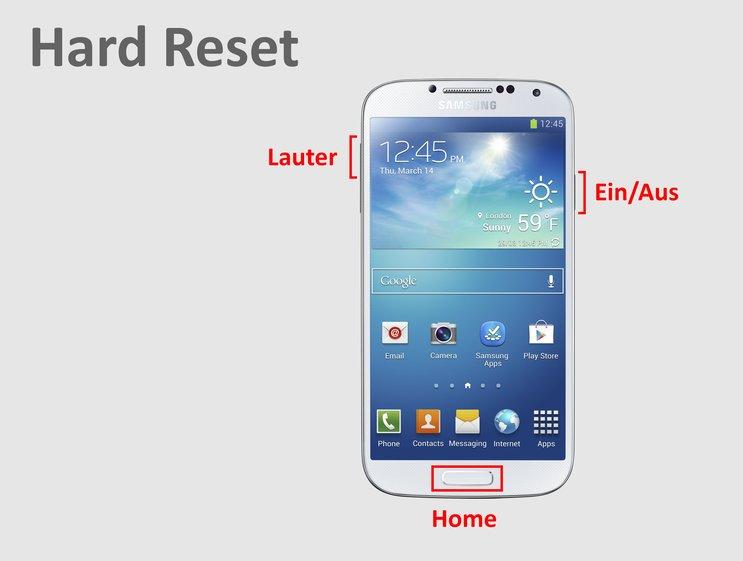 Samsung S3 Auf Werkseinstellung Zurücksetzen