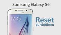 Samsung Galaxy S6 (edge): Reset durchführen – so geht's