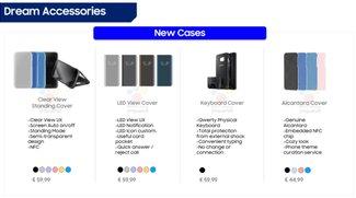 Samsung Galaxy S8: Das offizielle Zubehör mit Bildern und Preisen