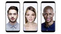 Samsung Galaxy S8 (Plus): Gesichtsscanner lässt sich mit Foto austricksen