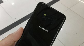 Schimmernd schön: So sieht das Galaxy S8 in Hochglanz-Schwarz aus