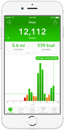 schrittzähler app