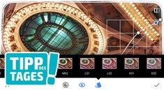 Tipp: Foto-Looks in Snapseed erstellen, übertragen und teilen