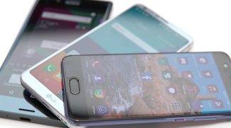LG G6 vs. Huawei P10 vs. Sony Xperia XZ Premium: Smartphone-Flaggschiffe im Video-Vergleich