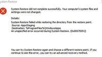 Lösung: 0x80070091 – Windows-Fehler bei Systemwiederherstellung & Ordner-Löschen