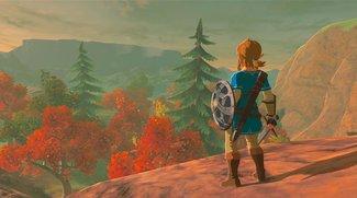 The Legend of Zelda: Breath of the Wild muss sich Horizon: Zero Dawn geschlagen geben