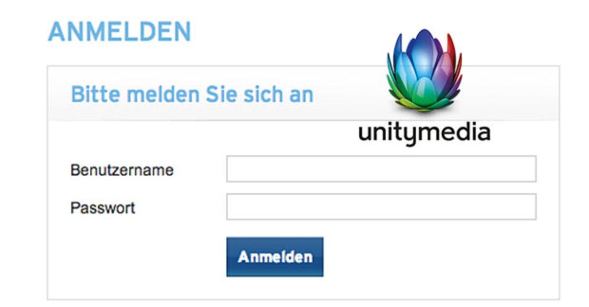Unitymedia Login Router