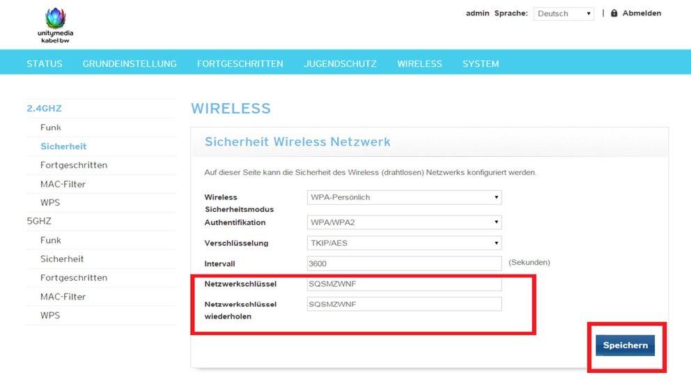 Unitymedia Router Passwort Vergessen