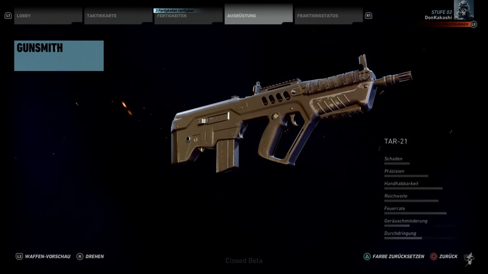Ghost Recon Wildlands beste Waffen