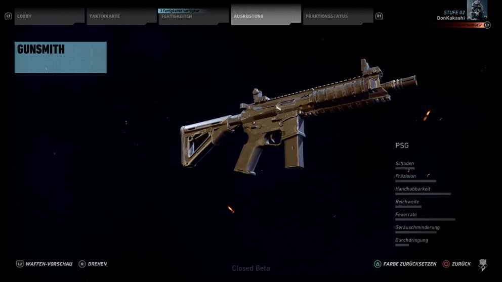Ghost Recon Wildlands beste Waffen.