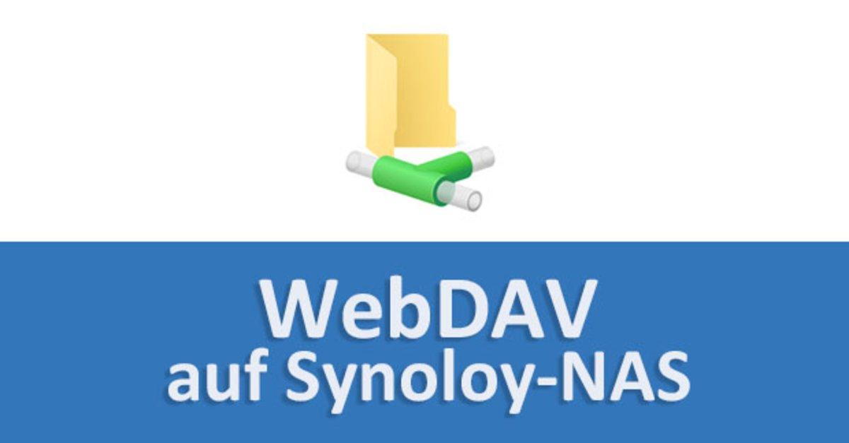 WebDAV auf Synology-NAS einrichten – so geht's