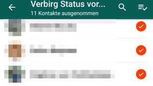 WhatsApp: Status verbergen (auch von anderen) – so geht's