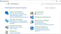 Windows 10: Systemsteuerung öffnen – so geht's