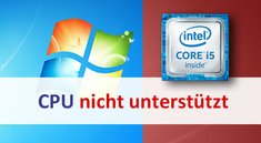 Lösung: Ihr PC verwendet einen unter dieser Windows-Version nicht unterstützten Prozessor
